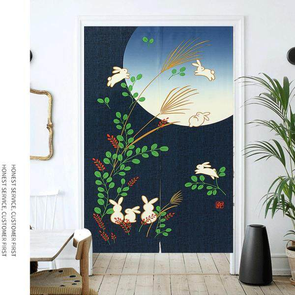150cm Finished Product Door Curtain Export Japan Product Japanese Style Colored Cloth Yi Feng Bath Curtain Decoration Thick a Series 1