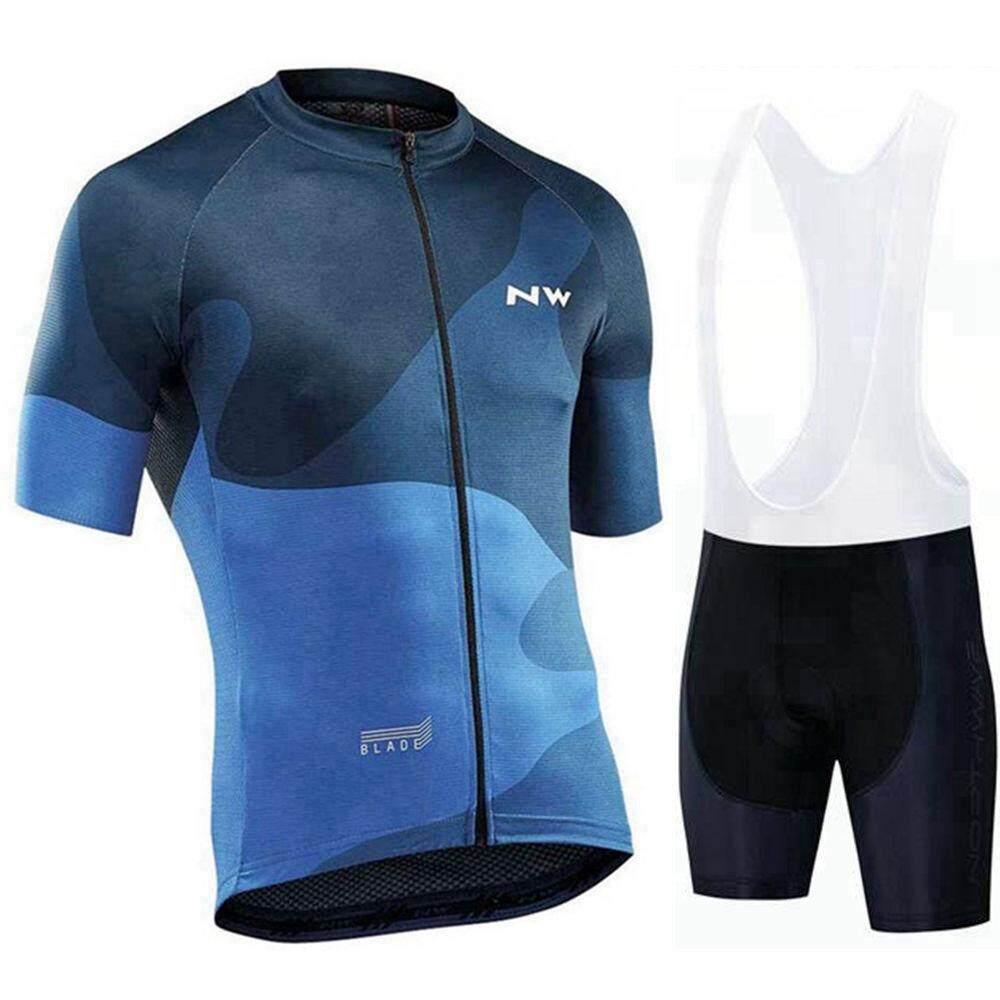 Summer cycling outfits Womens Bike Jersey bib shorts suit Outdoor Sports Uniform