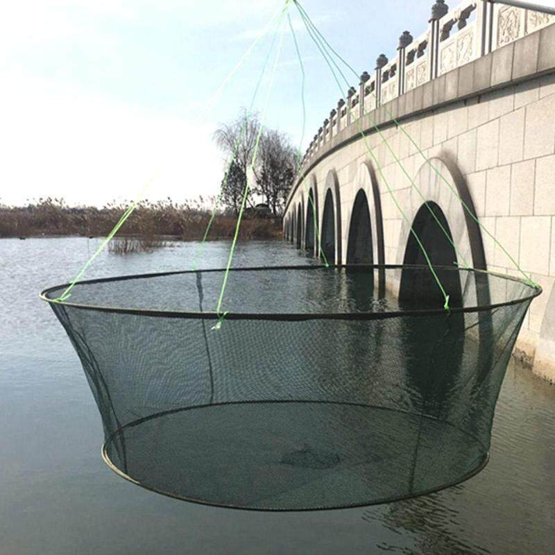 Folding Drop Net Fishing Landing Net Fishing Net By Blessing From China.