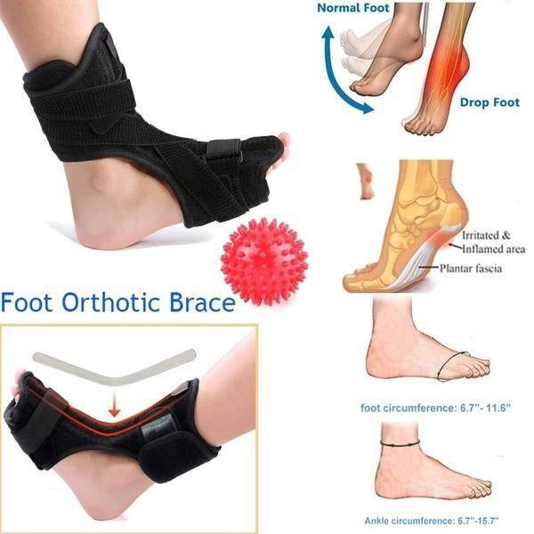 Plantar Fasciitis Foot Splint Night Dorsal Splint Foot Support Arch Orthotic With Massage Ball By Xuderong Shopping Center.