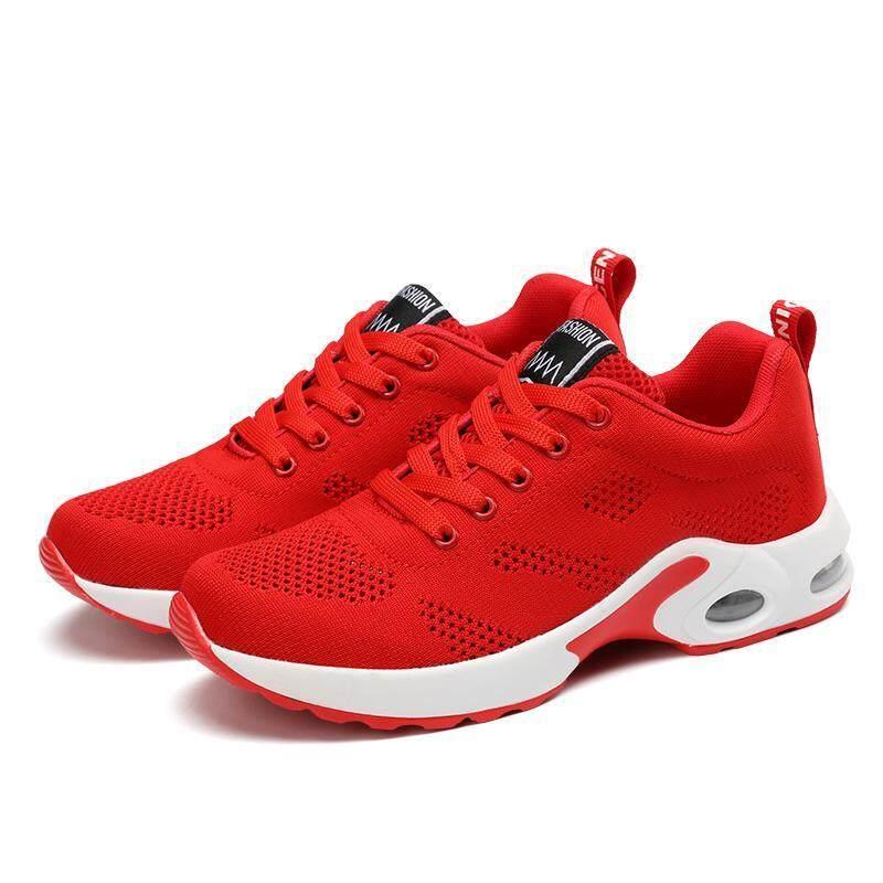 ใหม่รองเท้าผ้าใบนุ่มสบายสบายสบายๆรองเท้าผู้หญิงรองเท้าแฟชั่นปักลาย LACE-Up