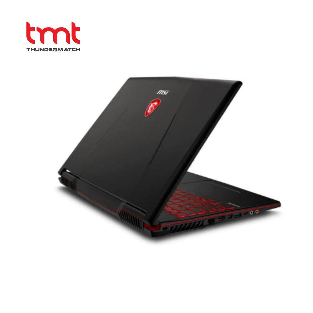 MSI Gaming GL63 8RC-666MY Black | i5 | 4GB | 1TB | 15.6 | GTX1050 | 2slots RAM Malaysia