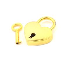 Ổ khóa mini FH hình trái tim ổ khóa nhỏ đựng hành lý có chìa khóa