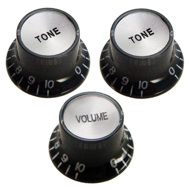 Baoblade 1 Volume 2 Tone Control Knobs Buttons for St Sq Fender Electric Guitar Parts Malaysia