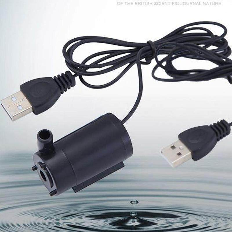 New DC Water Pump Mini Submersible Pump USB 1 Meter Cable 3-6V Silent Water  Pump Suitable for Fish tank Fountain Aquarium