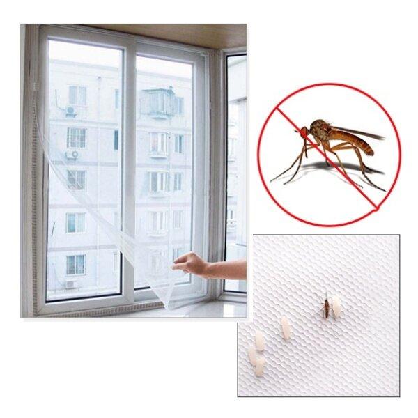 [Chinatera] Màn Hình Lưới 150X200Cm Tự Làm Màn Hình Côn Trùng Ruồi Muỗi Màn Hình Lưới Cửa Sổ