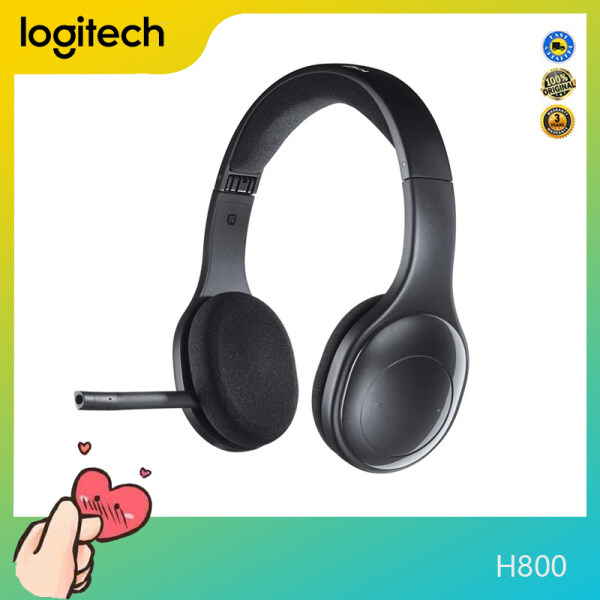 Logitech H800 Original Bluetooth Wireless Headset for Computers Smartphones And tablets Singapore