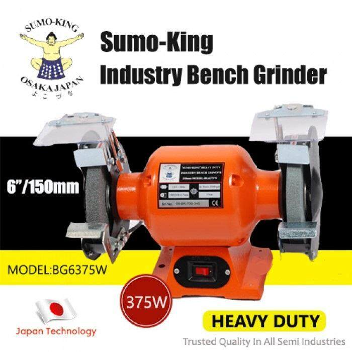 SUMO KING 6inc 375W INDUSTRY BENCH GRINDER