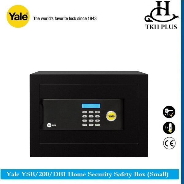Yale YSB/200/EB1 Home Security Safety Box (Small)