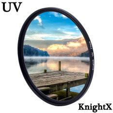 KnightX UV HD MCUV Bộ Lọc Ống Kính Máy Ảnh 49Mm 52Mm 55Mm 58Mm 62Mm 67Mm 72Mm 77Mm Cho Phụ Kiện Canon Eos Sony Nikon 2000d 500d Màu D70 D80