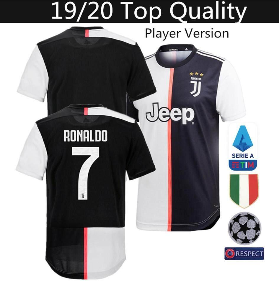 pretty nice c14f3 93829 Top Quality 19/20 Juventus Home Player Issue Football Jersey Ronaldo 7  DYBALA 10 *Player Version*