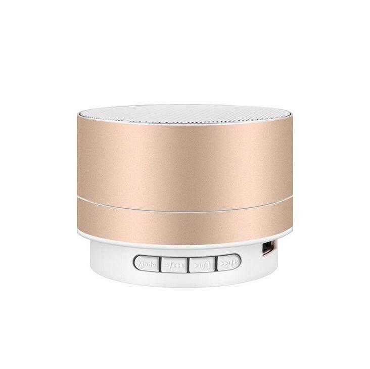 PL Wirelesss LED Phát Sáng Bộ Thu Bluetooth rảnh Tay Nghe Nhạc Kim Loại Loa Bluetooth
