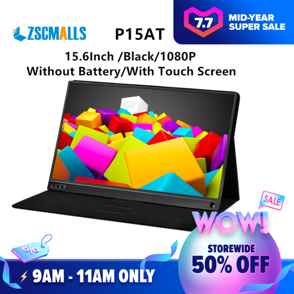 ZSCMALLS directly from factory shenzhen Ultra Thin portable 15.6 Inch LCD Full HD Computer Monitor Gaming LED Monitor Malaysia
