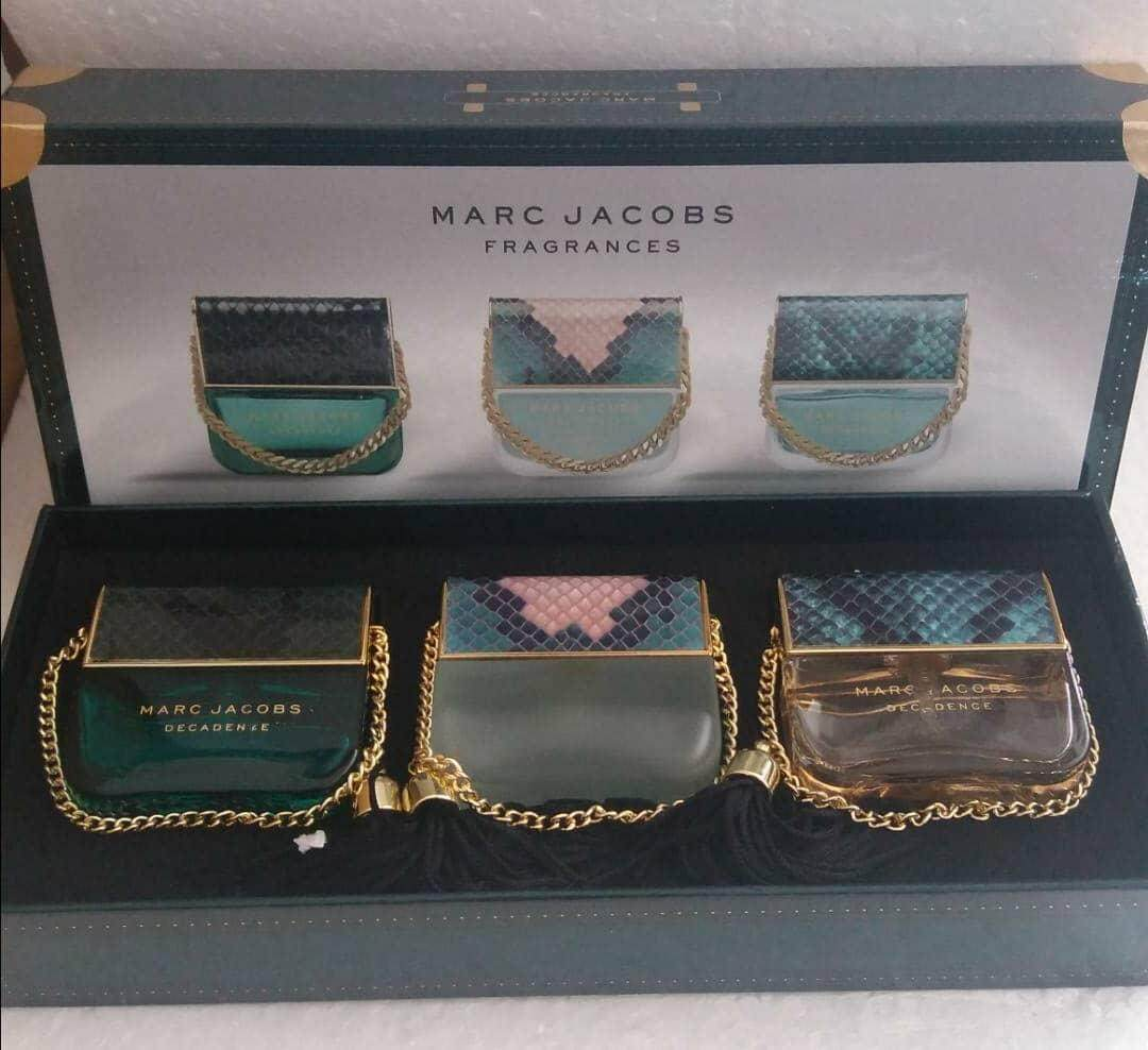 MARC JACOBS DECADENCE EDP GIFT SET 3 in 1