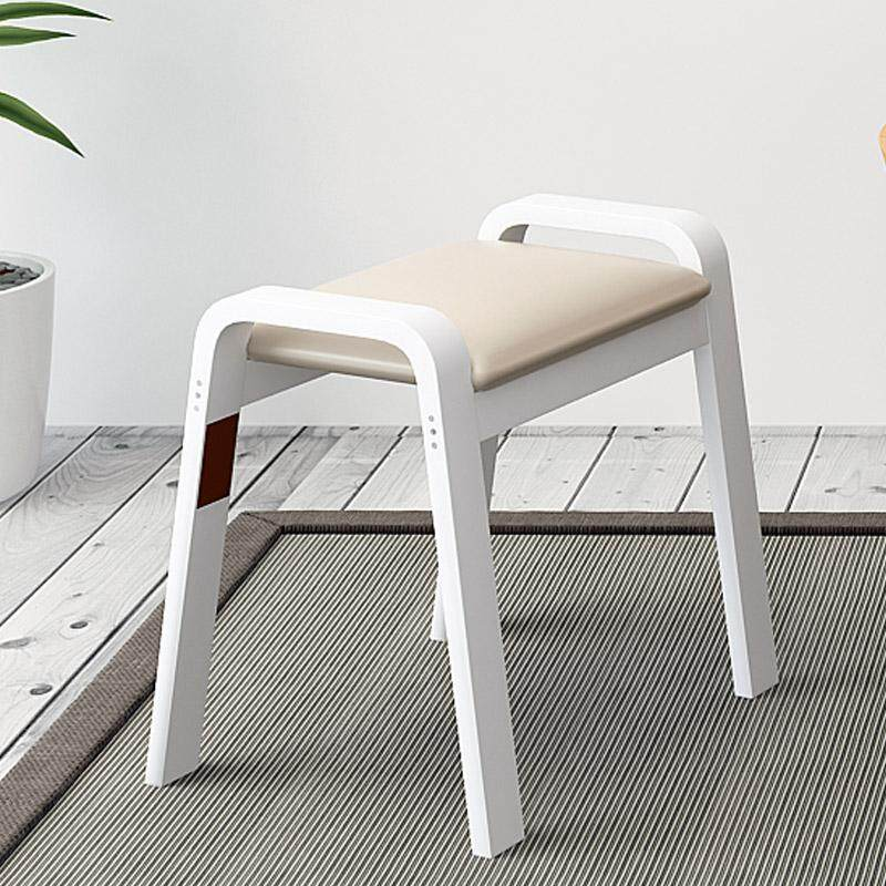 Fashion stool wooden bent wooden low stool creative simplicity modern dining stool household solid wooden bench sofa stool