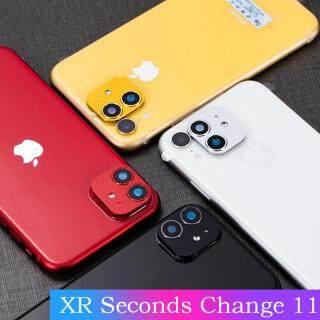 Cho Iphone XR X R Camera Ống Kính Giây Thay Đổi Cho Iphone 11 Ốp Lưng Đổi Kính Cường Lực Bảo Len cho Iphone XR thumbnail