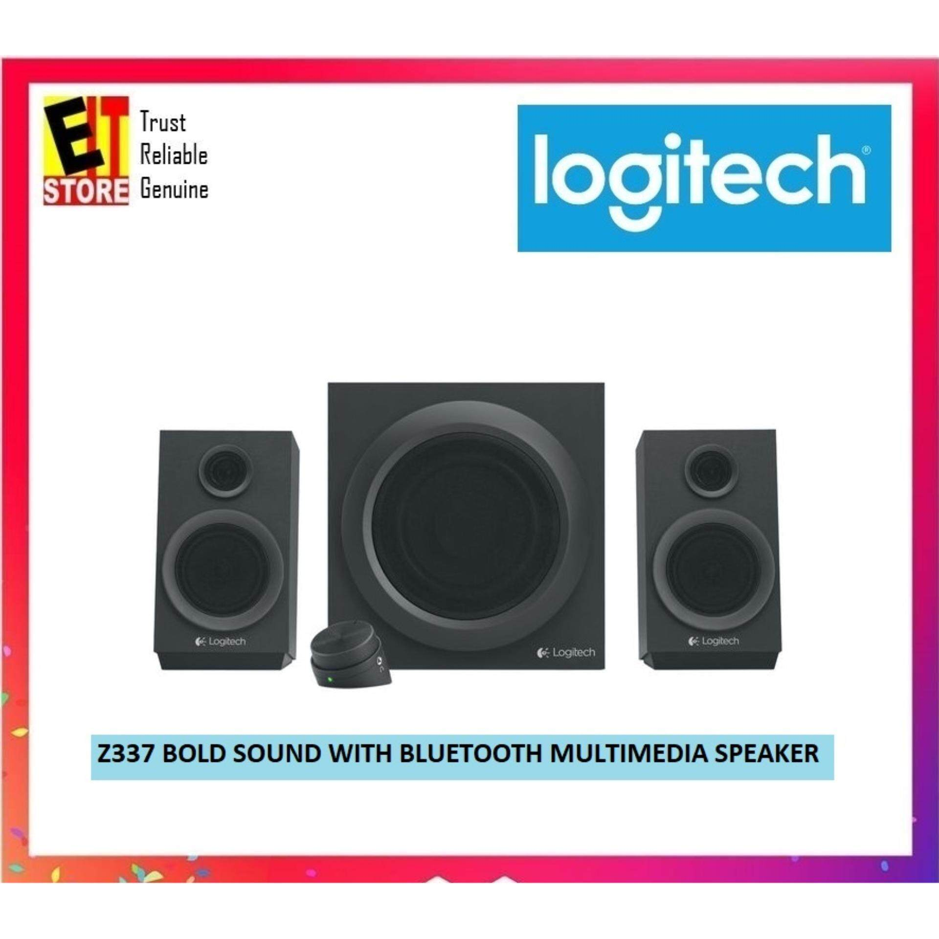 LOGITECH Z337 BOLD SOUND WITH BLUETOOTH MULTIMEDIA SPEAKER (980-001275) Malaysia