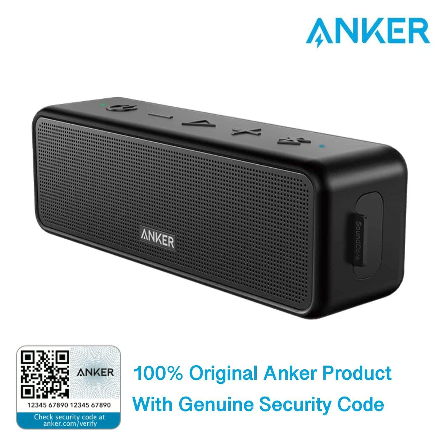 Anker Soundcore Bluetooth Speaker with Loud Stereo Sound 24-Hour Rich Bass