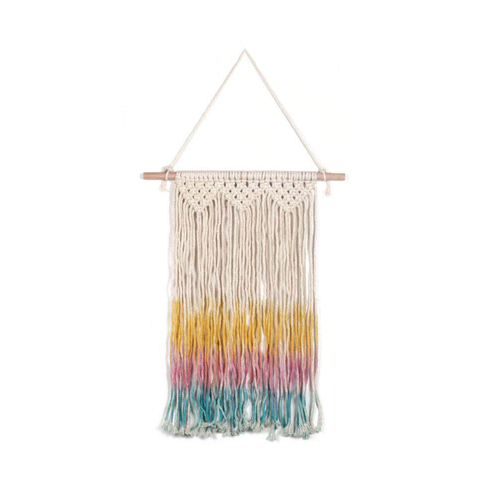 Bohemian Style Colorful Tassel Woven Tapestry Nordic Home Style Wall Decoration Tapestry