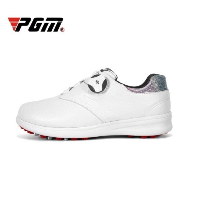 Giày Chơi Golf Nữ PGM Dành Cho Nữ Và Nữ, Giày Thể Thao Cho Golf; Dây Giày Xoay Tự Động, Không Thấm Nước, Thoáng Khí Và Thoải Mái giá rẻ