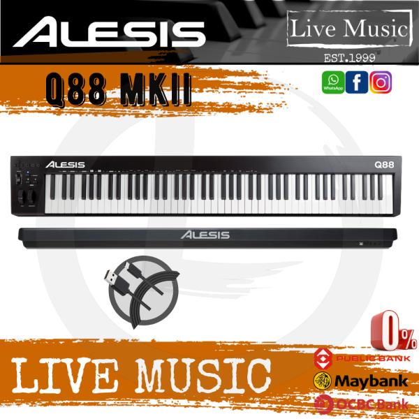 Alesis Q88 MKII 88-key Keyboard Controller (Q-88/Q 88) Malaysia