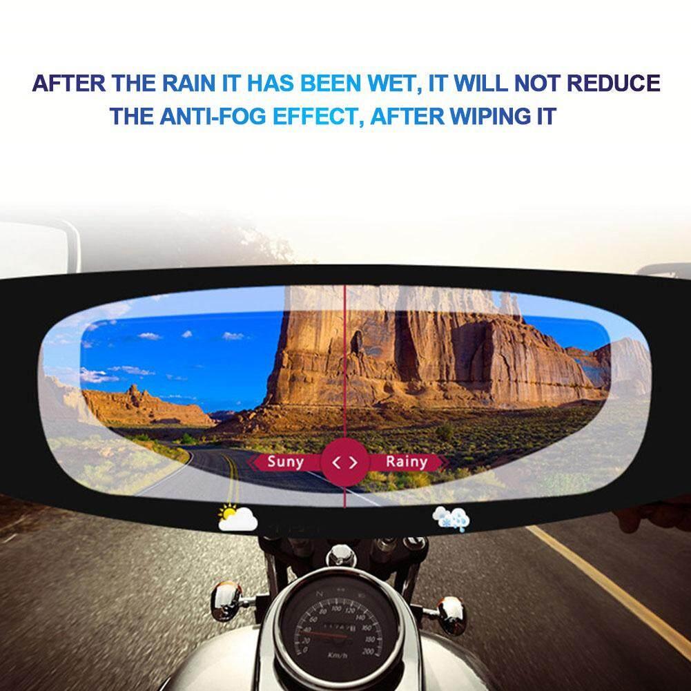Full-frame Motorcycle Universal Rain Anti Fog Ultra Clear Mist UV Helmet Insert Film