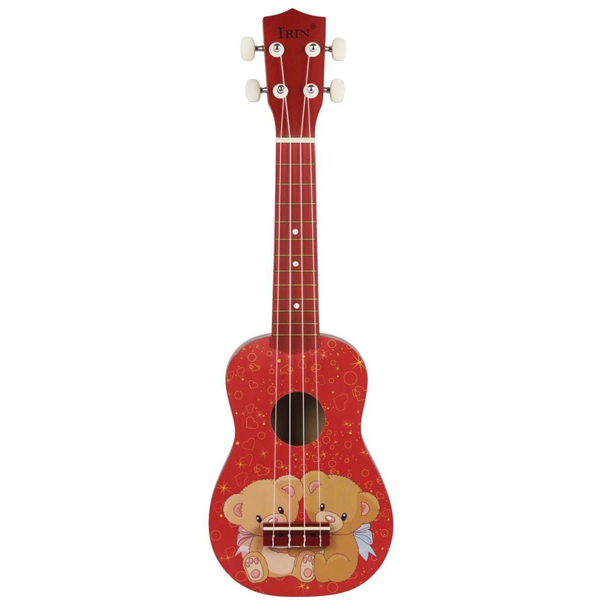 21 Mini Acoustic Guitar 4 Dây Ukulele Nhạc Cụ Cho Người Mới Bắt Đầu Học Sinh