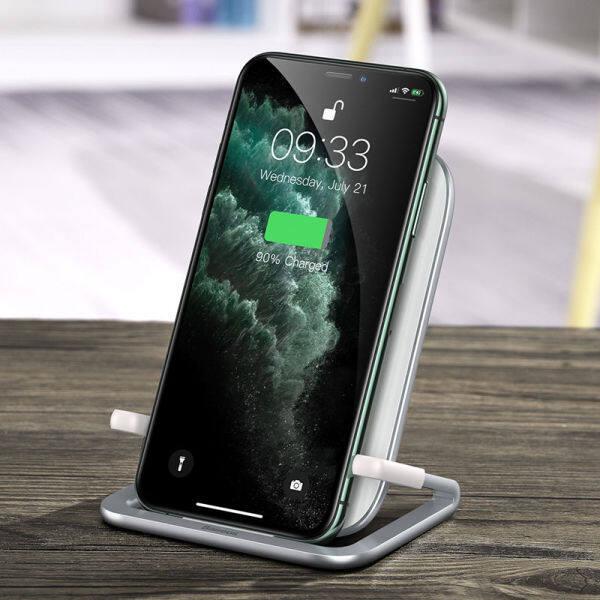 Bảng giá Sạc Không Dây Qi Baseus 15W Cho iPhone 11 Pro XS Max Tấm Sạc Không Dây Nhanh Cho Samsung S10 Phong Vũ