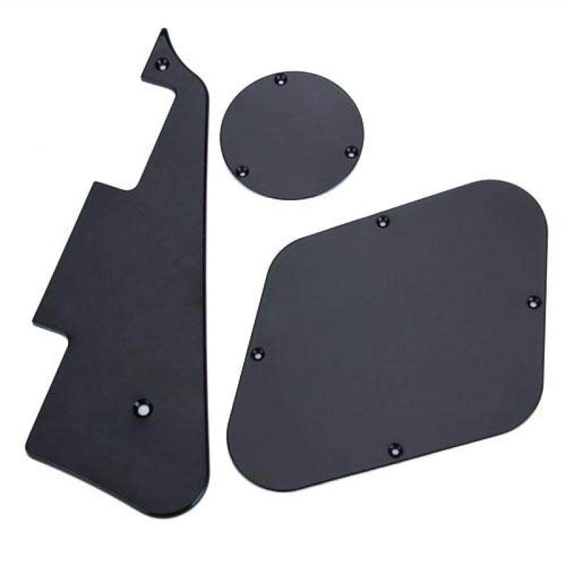 Baoblade Black Pickguard Cavity Switch Cover Set for Les Paul Malaysia