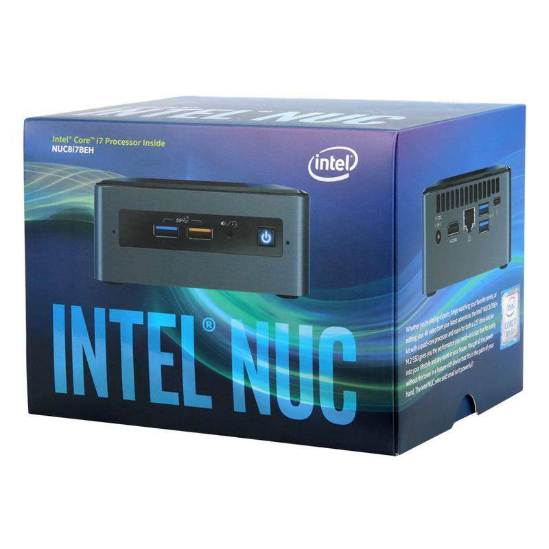 Intel NUC8i7BEH/16/1024M2W10P L10 Core i7 2 7GHz~4 5GHz Quad-Core Mini PC /  Intel NUC + Windows 10 PRO