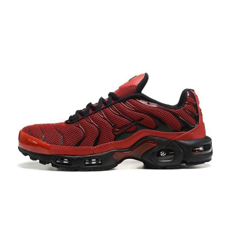 ยี่ห้อไหนดี  ตราด 2019 Nike_Air_Max_TN Shoes Bright Red Outdoor Shoes Sale