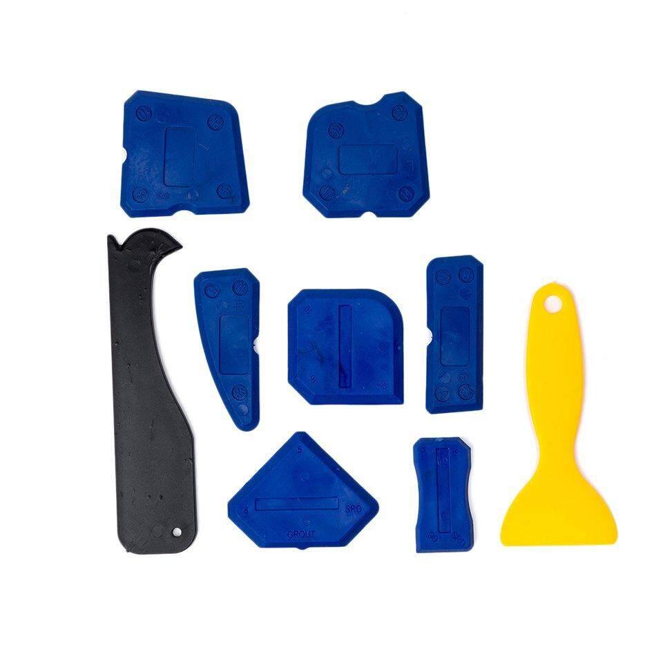 Hot Sales 9PCS/SET Handmade Tools Scraper Utility Practical Floor Cleaner Tile Cleaner Surface Glue Residual Shovel