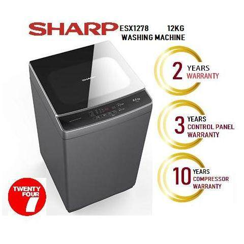 SHARP 12KG TOP LOAD FULLY AUTO WASHER ESX1278