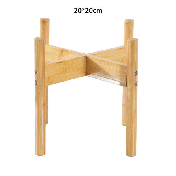 [Dingye-Home]Bonsai Plant Stand Plant Holder Mid Century Wood Modern Flower Potted Holder Rack for Indoor Outdoor