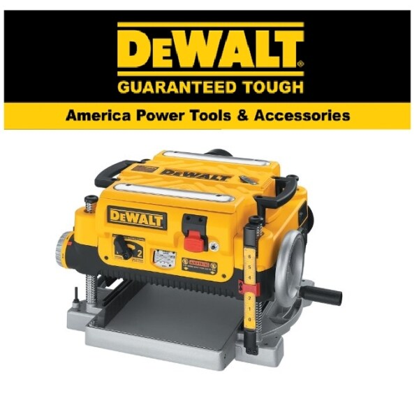 DEWALT DW735-KR THICKNESS PLANNER 13IN THREE KNIVE TWO SPEED EASY USE SAFETY GOOD QUALITY