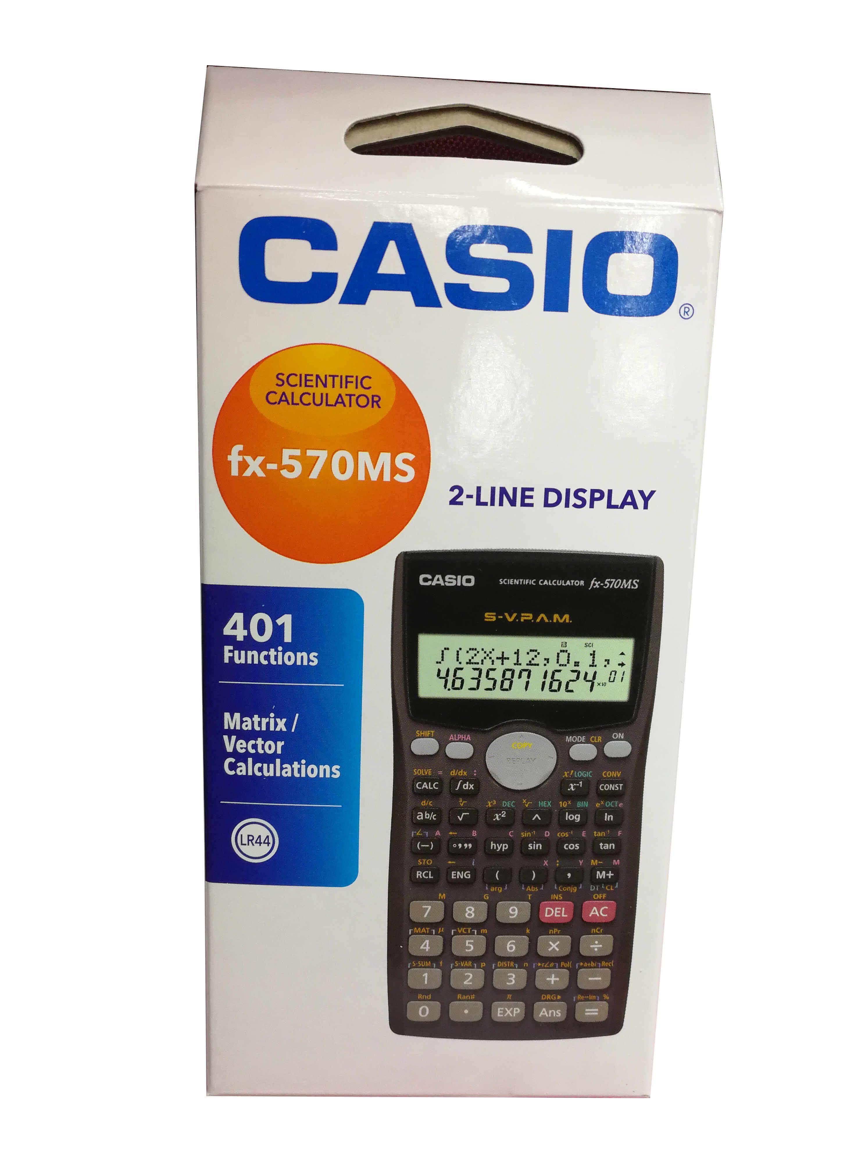 02e802b8a99c Casio fx-570MS Scientific Calculator with 401 Functions