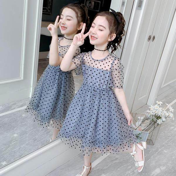 Giá bán Váy Ngoại Quốc Cho Bé Gái FORHER FORHIM Váy Mùa Hè Đầm Công Chúa Nữ Hàn Quốc Mới 2020 Miễn Phí Vận Chuyển FH0276