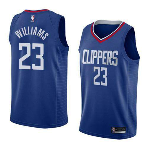 f017a5670 Men Basketballl Jersey Comfortable High Quality Size S-2XL Discounted NBA  LA Clippers Lou Williams