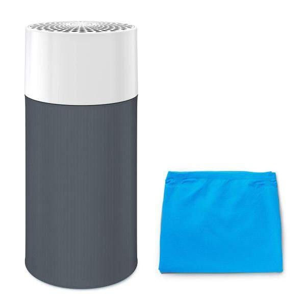 [Online limited model] blue air air purifier Blue Pure 411G 13-mat pre-filter two (Bull - + dark gray) set Particle + Carbon 360 degrees suction pollen 201436-G Singapore