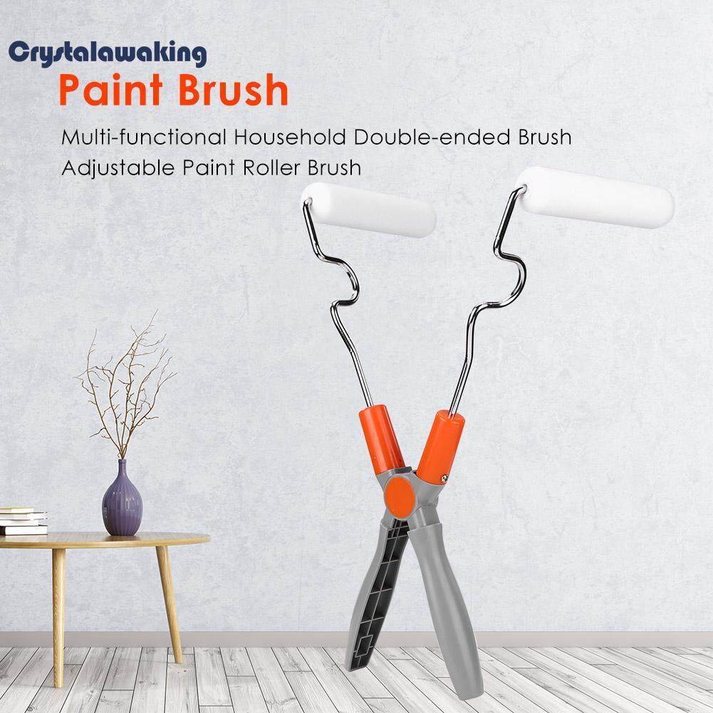 New Arrival Multi-functional Household Double-ended Brush Adjustable Paint Roller Brush