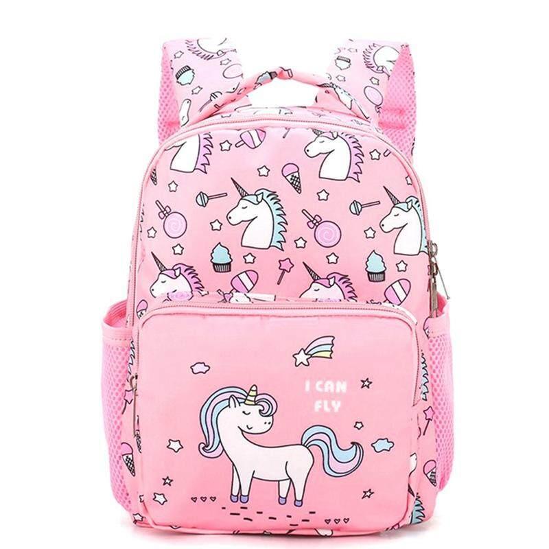 49dc91febd9d Kuhong Kindergarten Unicorn Little Girls Kids School Bags Book Backpacks