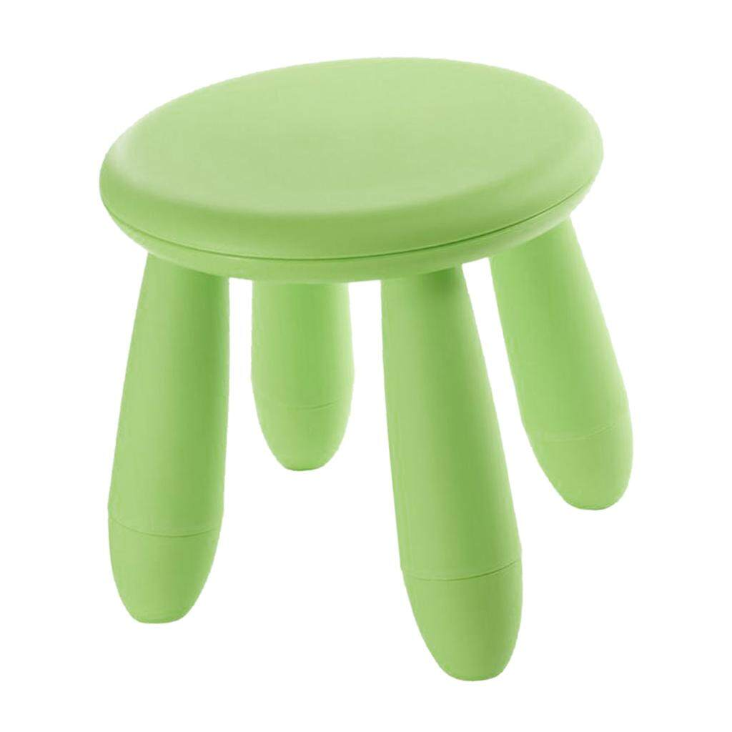 Fityle Childrens Kids Indoor Outdoor Chair Stool 12 Inch Durable Plastic Seat