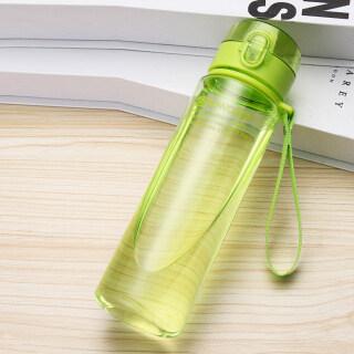 Chai Nước Nhựa 400 560 800ML, Chai Nước Sinh Viên Cầm Tay Chống Rò Rỉ Dành Cho Thể Thao Ngoài Trời Trường Học thumbnail