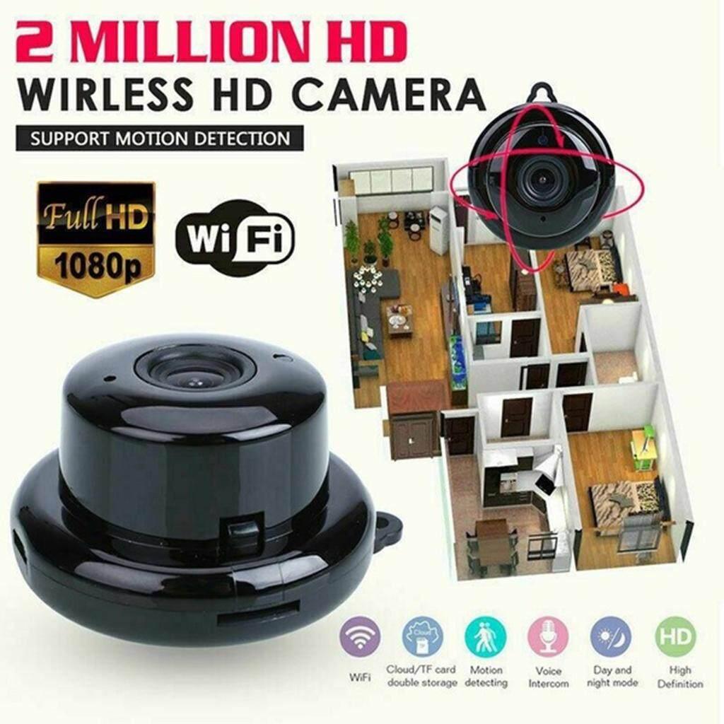 Harayaa Camera IP Mini Wifi 1080P HD V380, Camera Quan Sát Không Dây Hồng Ngoại Tầm Nhìn Ban Đêm Eu