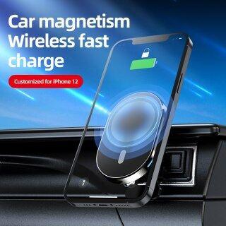 HOCE Bộ Sạc Không Dây Từ Tính Nhanh 15W Cho IPhone12 Mini 13 Pro Max Giá Đỡ Gắn Trên Xe Hơi Sạc Nhanh Chống Trượt Có Lỗ Thông Hơi Xoay thumbnail