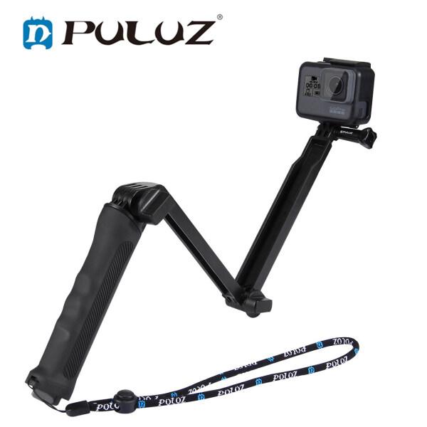Giá PULUZ Selfie Stick Đa Chức Năng Có Thể Mở Rộng Gấp Máy Ảnh Cầm Tay Giá Đỡ Monopod Có Thể Tháo Rời Tripod Cho GoPro