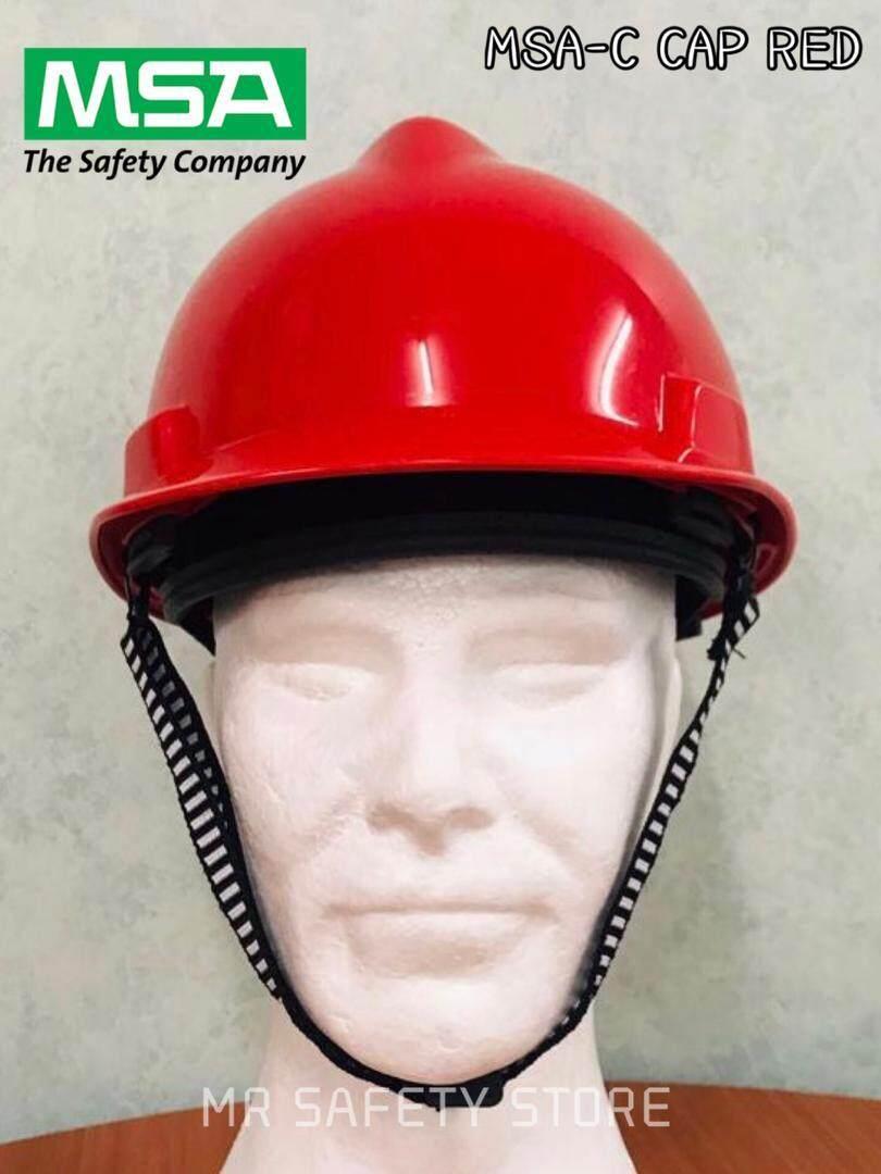MSA V-Gard Protective Cap - Red (Original China)