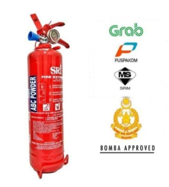 1KG Fire Extinguisher Dry powder (ABC) Come With Free Bracket
