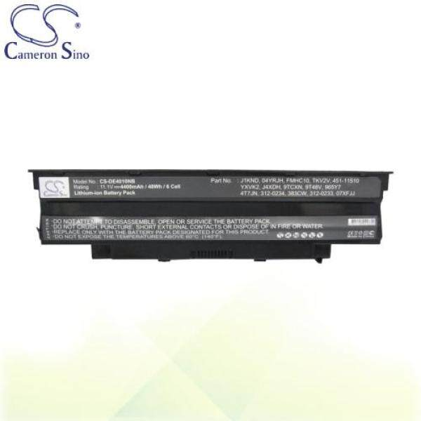 CameronSino Battery for Dell Inspiron 15R 5010-D520 / 15R N5010 Battery L-DE4010NB