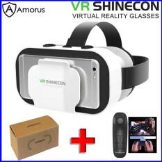 [Amorus VR] SHINECON Thế Hệ 5 Cho Điện Thoại 4.7 Inch-5.5 Inch Hộp Vr Shinecon Vr Hộp Vr Phim 3d Với Bộ Điều Khiển Hộp Kính Thực Tế Ảo Chơi Game Kính 3D Vr Bộ Trò Chơi Vr Cho Điện Thoại 4.7 Inch